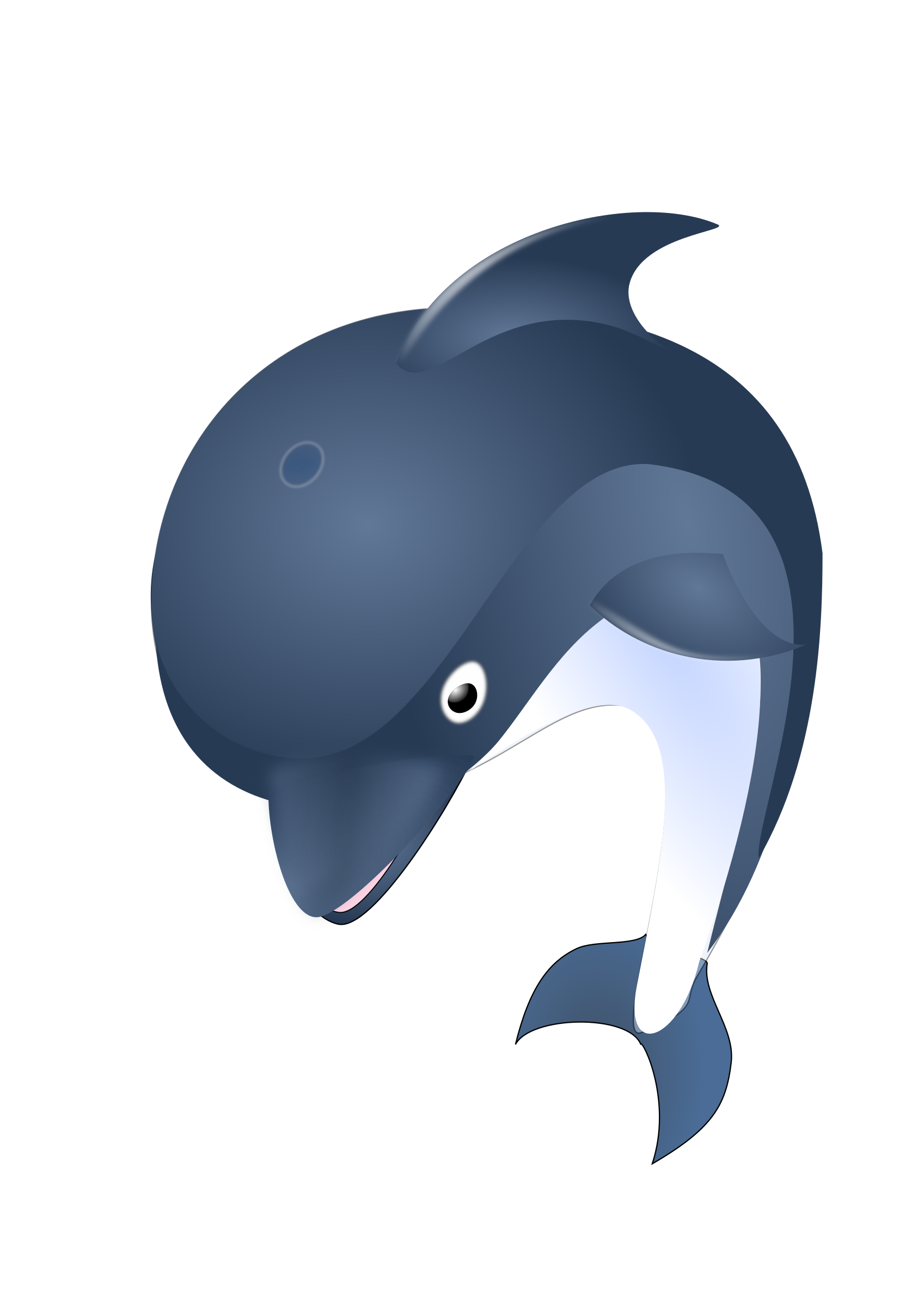 vector library stock Vector dolphin jumping. Icons png free and