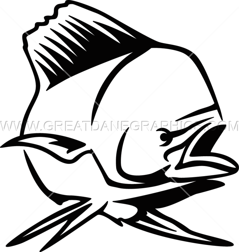vector library Production ready artwork for. Vector dolphin mahi