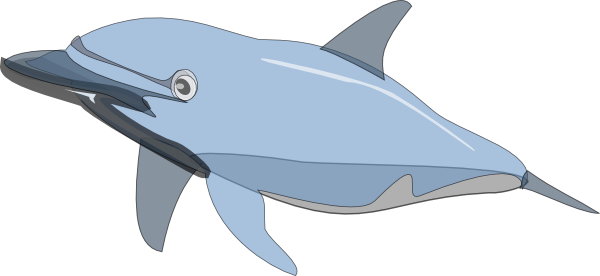 image library library Vector dolphin moving picture. Clip art at clker