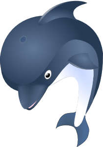 png royalty free library Delfin clip art online. Vector dolphin royalty free