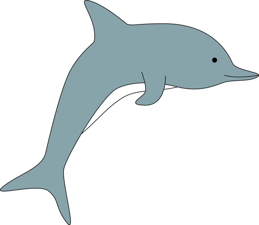 clipart free stock By shaunqb on deviantart. Vector dolphin simple