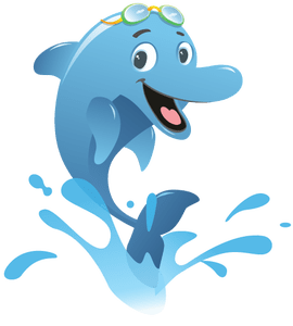 png free download Clipart free download wallpaper. Vector dolphin swimming