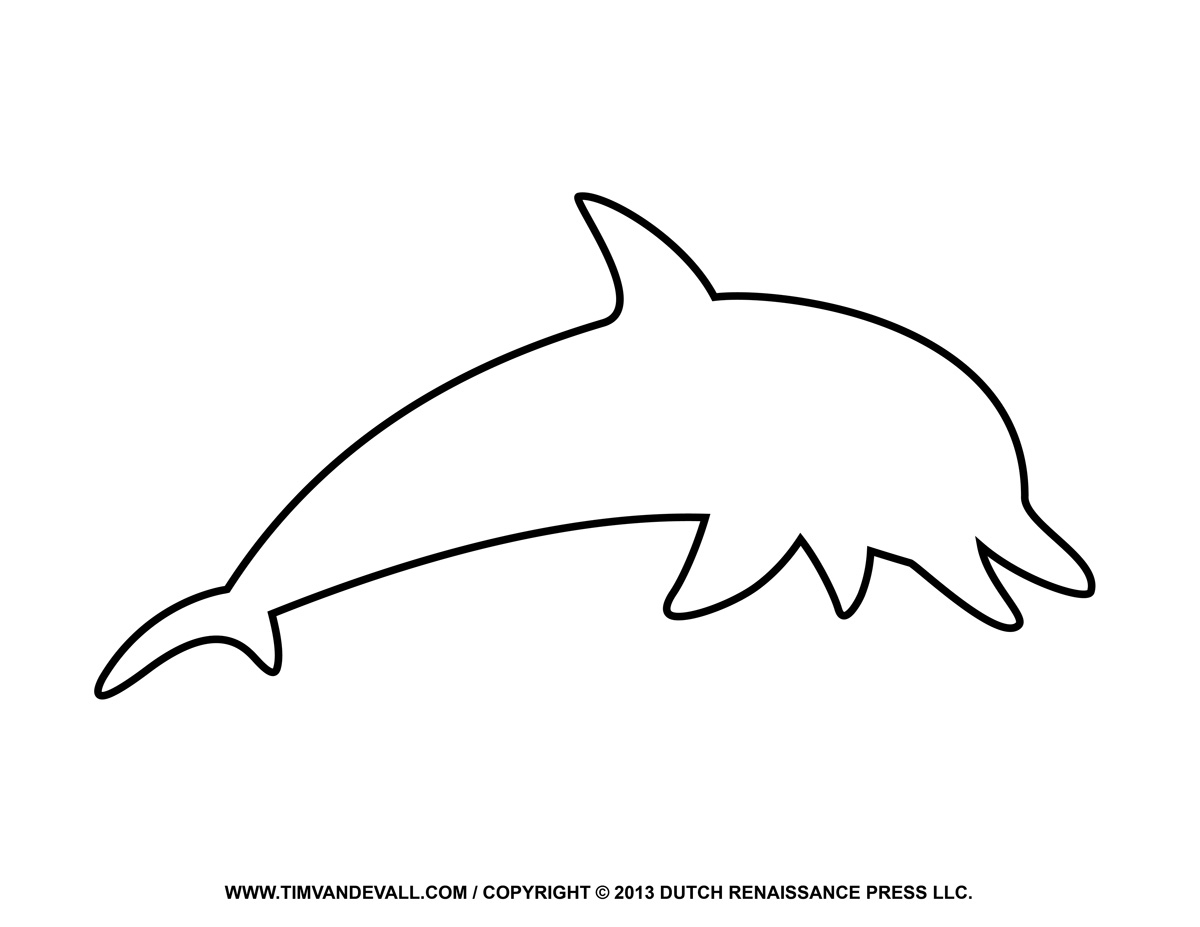png black and white library Vector dolphin traceable. Drawings free download best