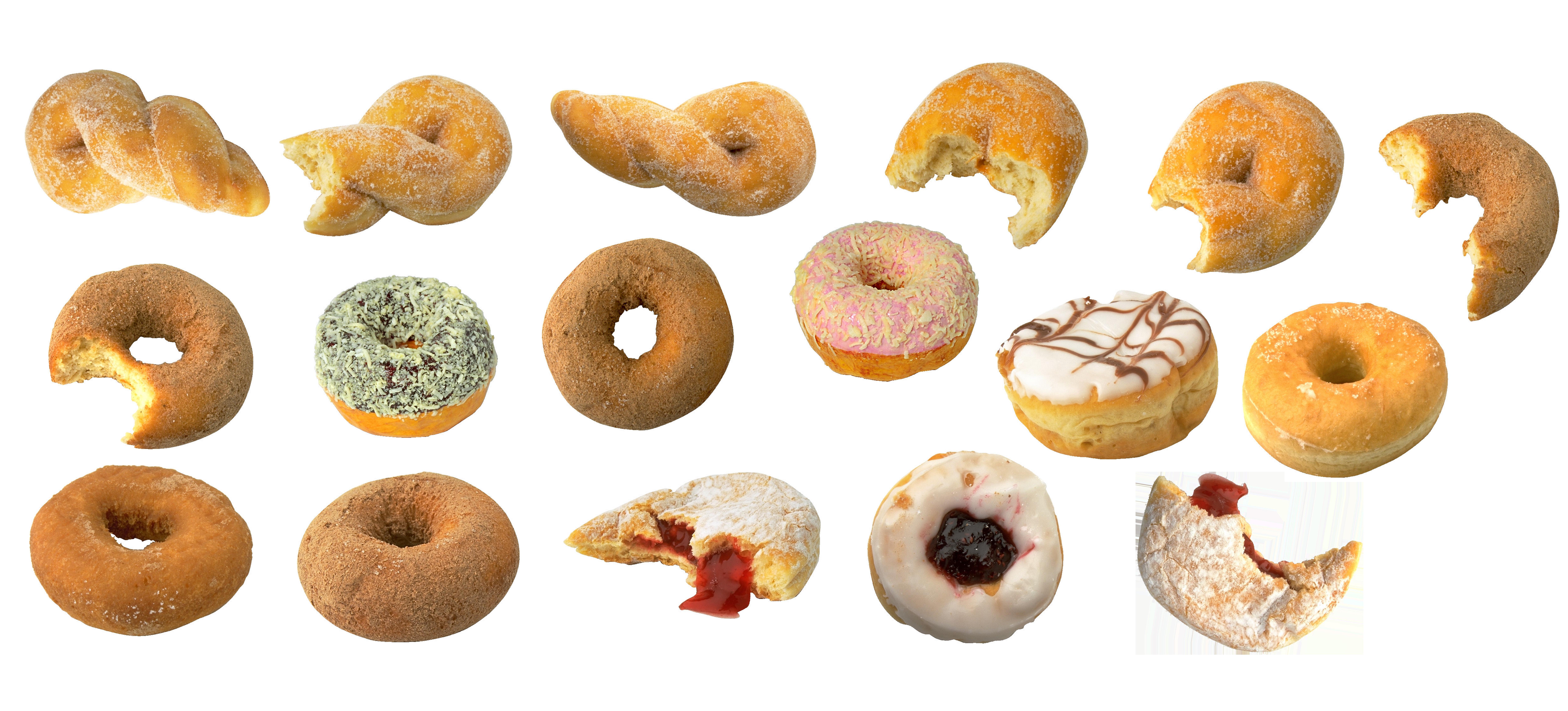 free download Vector donut bagel. Cider doughnut cannabis variety