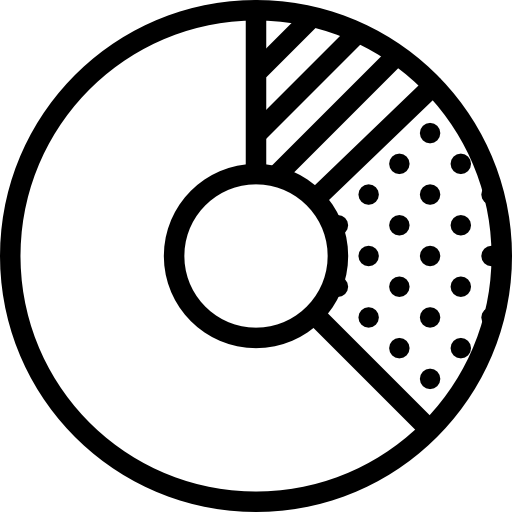 free Icon page png ico. Vector donut black and white