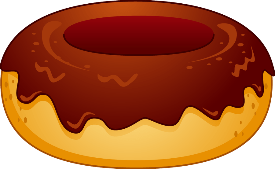 banner library Vector donut border. Free clipart images download