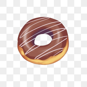 png black and white library Vector donut cartoon. Png images and psd