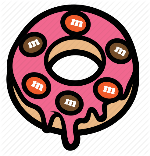 vector black and white download creamy donut