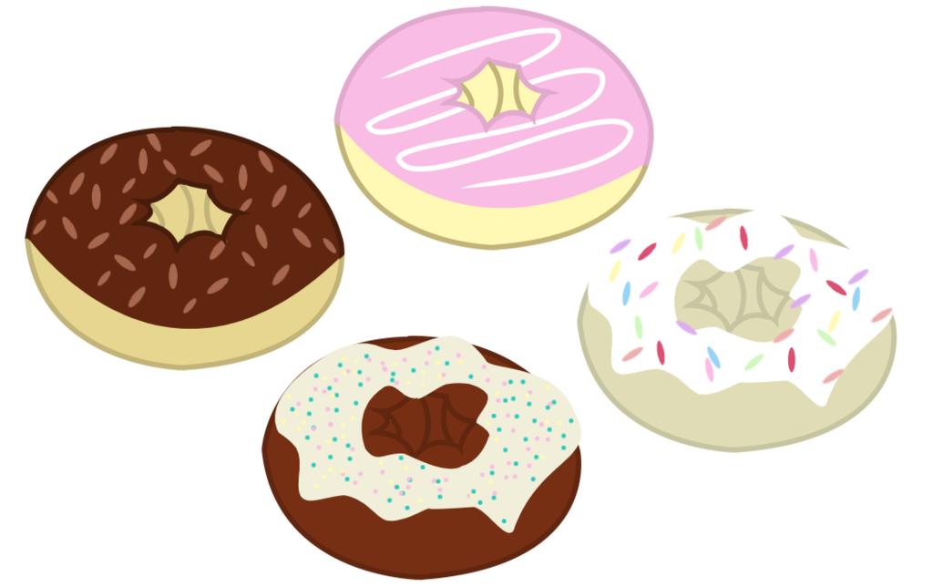 vector stock Mlp resource donuts by. Vector donut comic