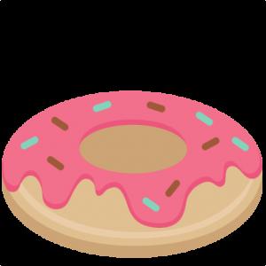 clip transparent download Donut SVG scrapbook cut file cute clipart files for silhouette