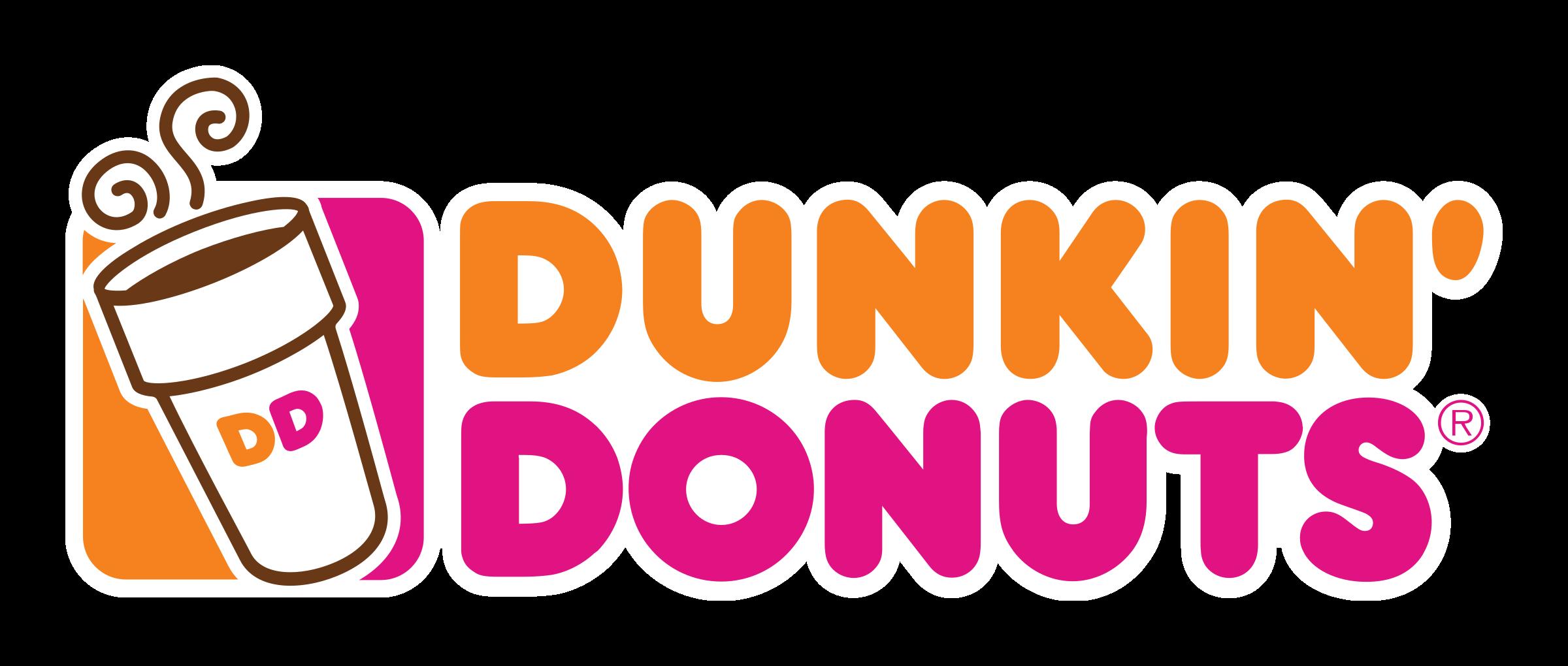 clip transparent library Dunkin donuts png transparent. Vector donut logo