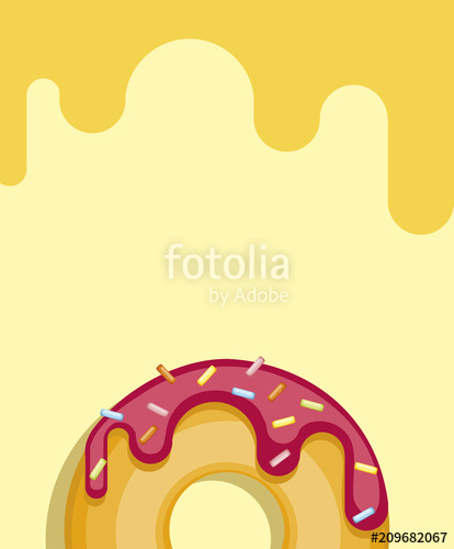 image free library Vector donut pastel. Colorful donuts isolated on