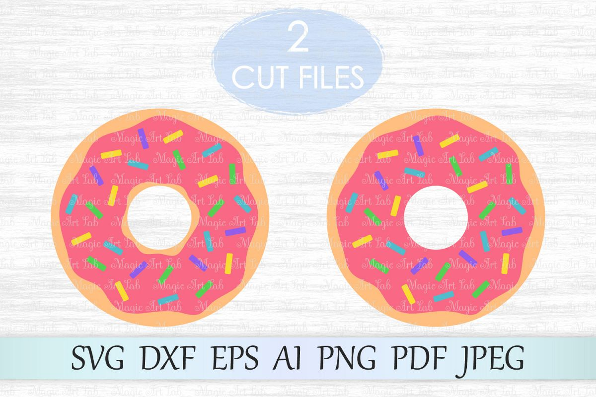 png freeuse library Svg file cut dxf. Vector donut pdf