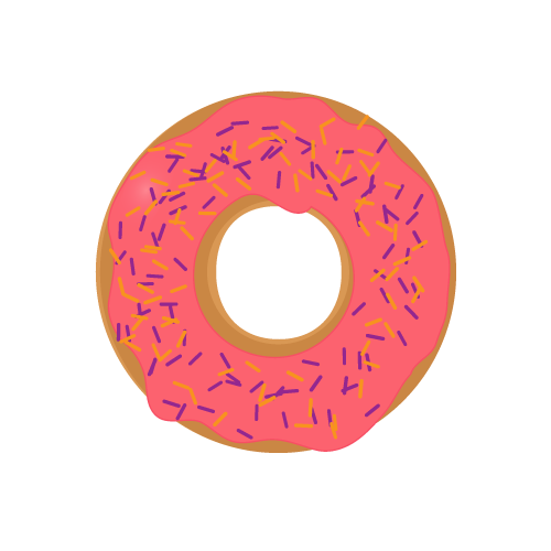 png freeuse download Donuts donutstrawberrypng. Vector donut skateboard wheel