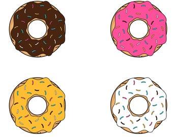 jpg royalty free library Donut sprinkles svg
