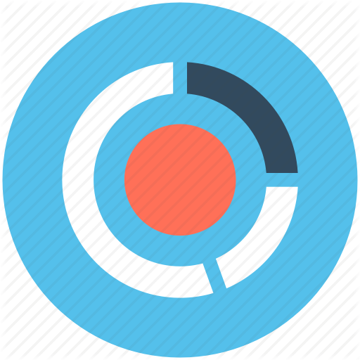 vector royalty free stock Reports and analytics by. Vector donut teal