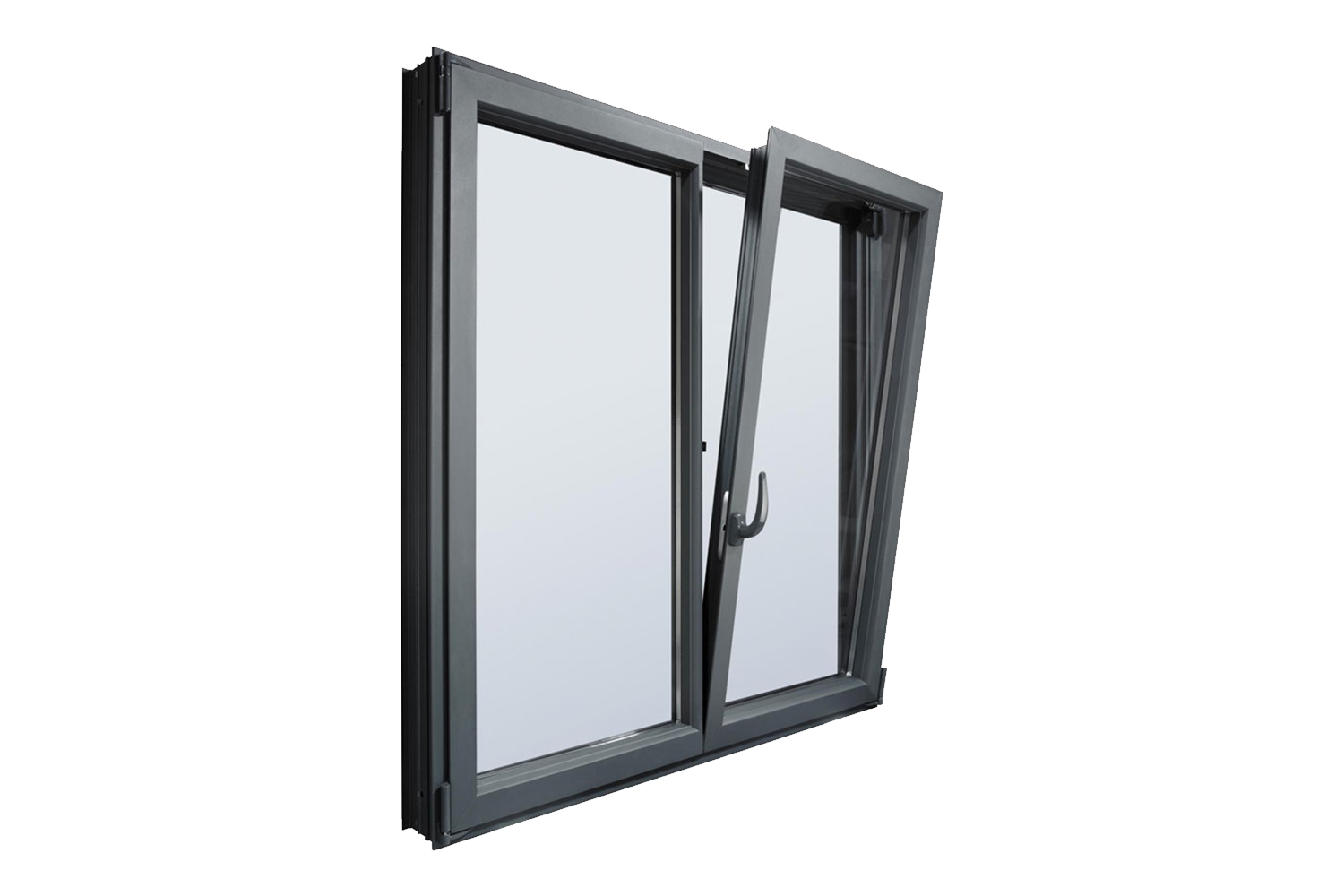royalty free library Double Glazed Aluminium Windows