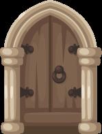 clip free library Collection of free doors. Vector door castle
