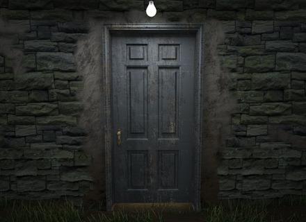 picture free stock Vector door creepy.  black stock images