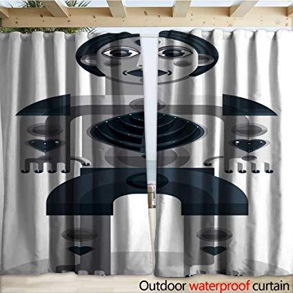 clip art black and white library Amazon com warmfamily outdoor. Vector door creepy