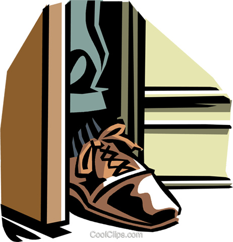 jpg royalty free library Collection of free download. Vector door creepy