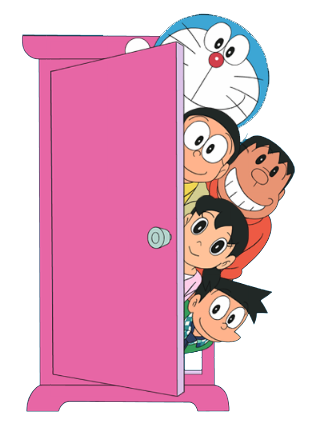 picture royalty free Expansion sets official collectoons. Vector door doraemon