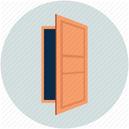 graphic library download Real estate icons vol. Vector door flat