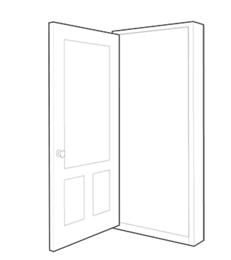 clipart transparent stock Collection of free Door vector interior