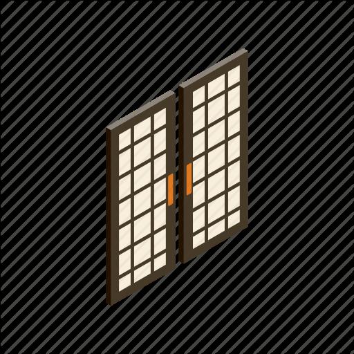vector freeuse Doors by yulia ryabokon. Vector door isometric