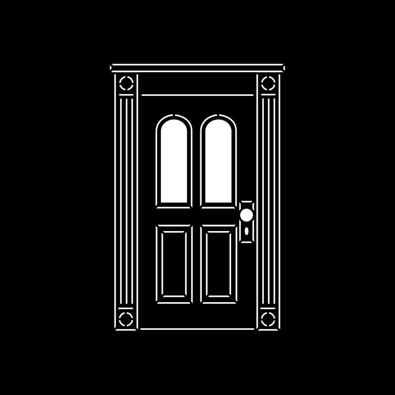 image stock Vector door victorian. Doors apollo design