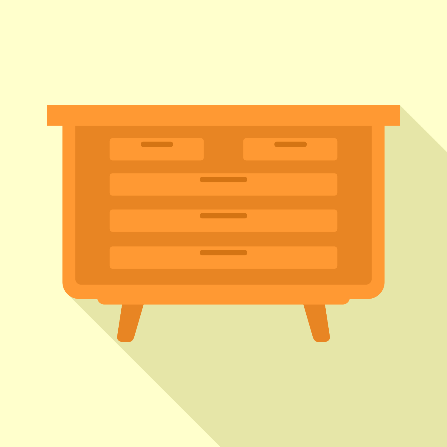 vector library library For free use icon. Vector drawer