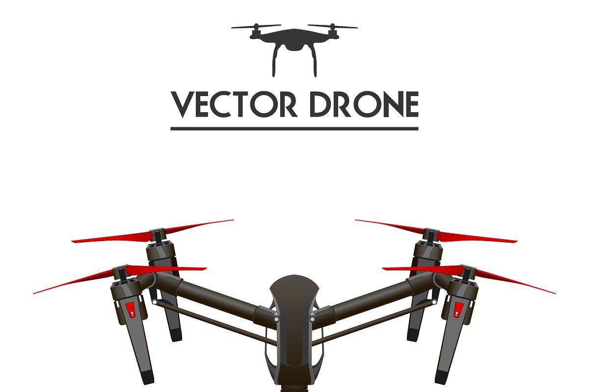transparent download Vector drone. Realistic .