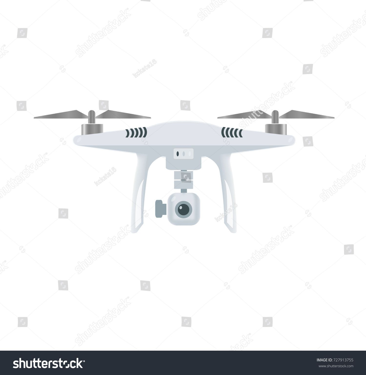 jpg freeuse download Vector drone. With camera uav copter.