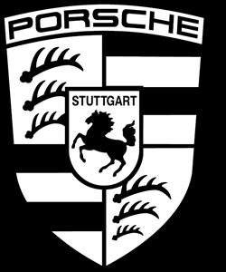 clip library Vector emblem. Porsche logo eps free