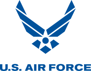 jpg free Vector emblem air force. U s logo svg