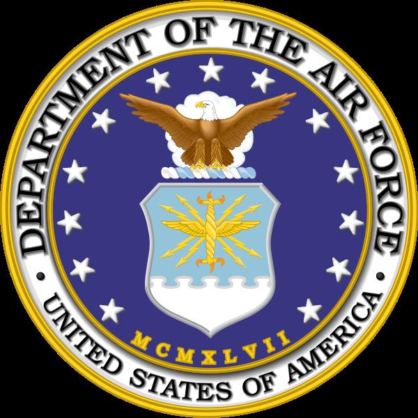 image transparent stock United states logos . Vector emblem air force
