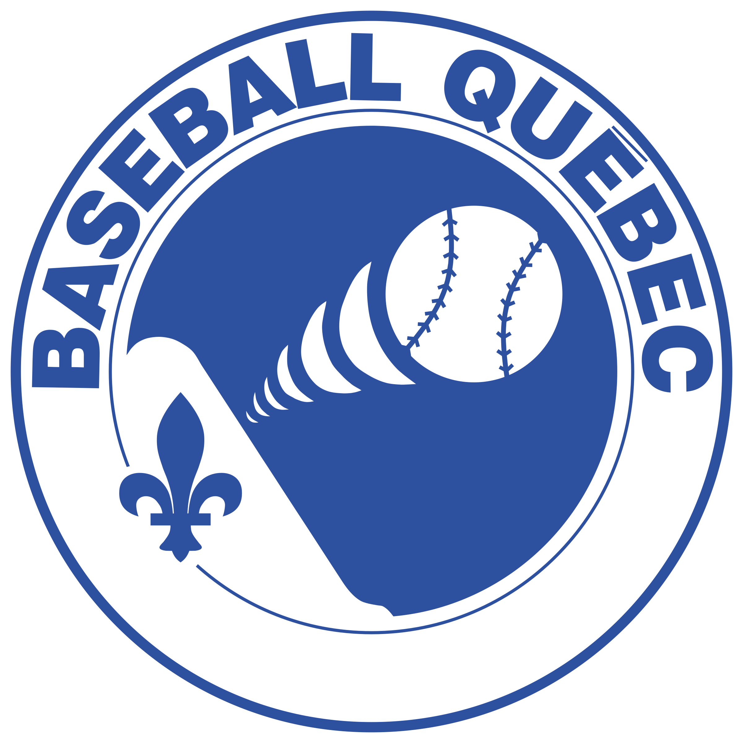 png library Quebec logo png transparent. Vector emblem baseball