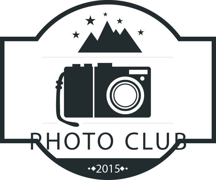 vector Photography logo material transprent. Vector emblem creative