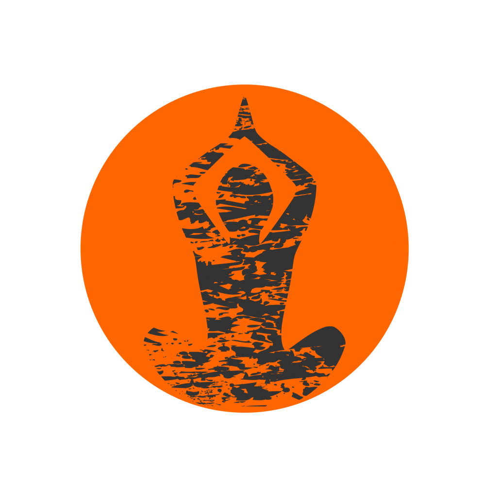 picture free library Yoga logo image free. Vector emblem creative