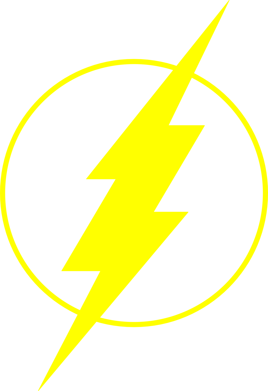 png Vector emblem flash. Superhero logos