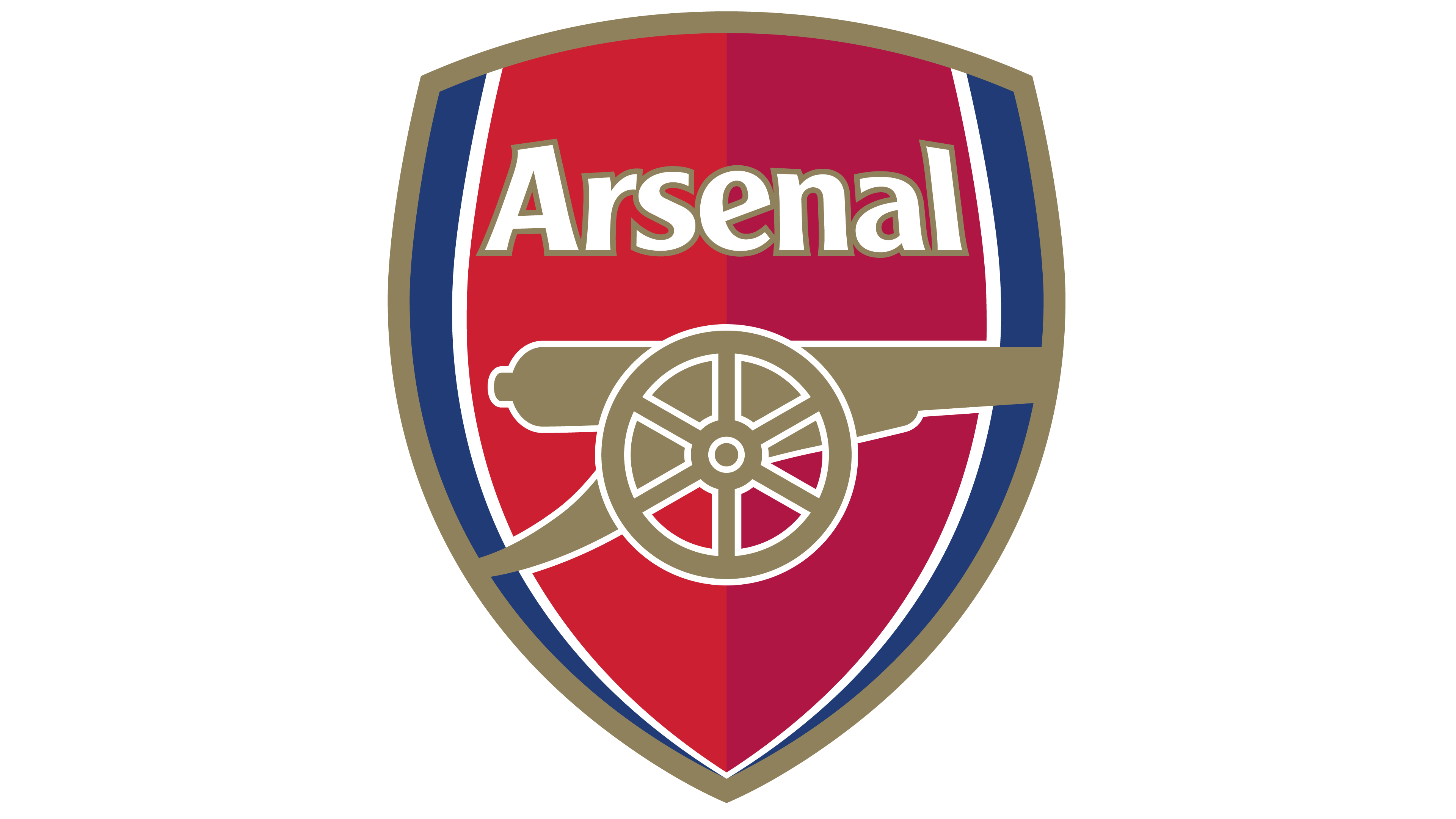 vector freeuse download Arsenal logo interesting history. Vector emblem gothic