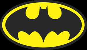 clip stock Batman logo vectors free. Vector emblem illustrator