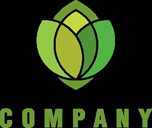vector library stock Vector emblem leaf. Logo vectors free download
