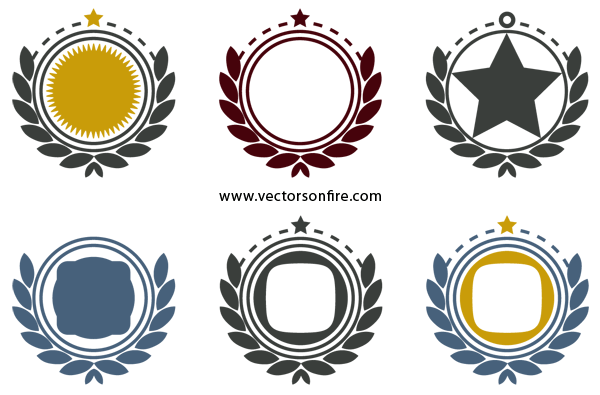 graphic free stock Free frames icons psd. Vector emblem ornamental
