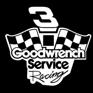 banner Goodwrench service logo eps. Vector emblem racing