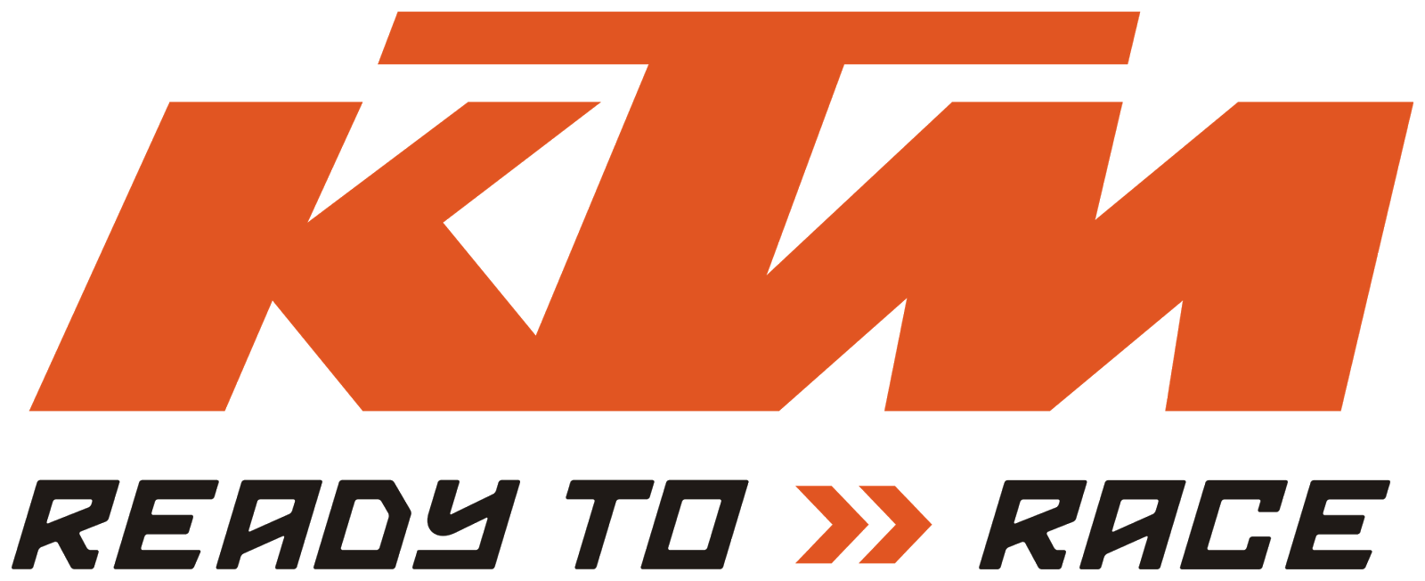 image freeuse stock Logo ktm ready to. Vector emblem racing