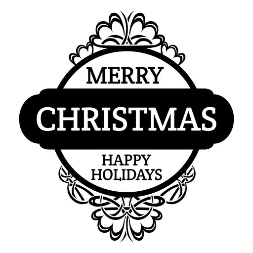 clip art royalty free Vector emblem round. Merry christmas badge transparent
