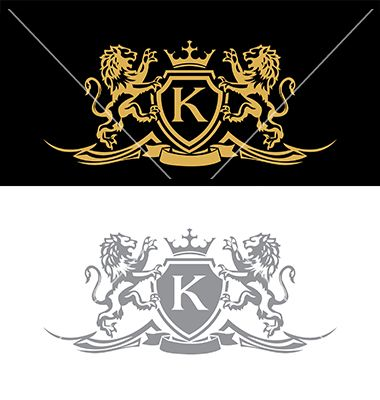 graphic freeuse library Vector emblem royal. Lion cars logo file
