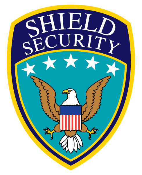 image free library Vector emblem security badge. Logo design for shield