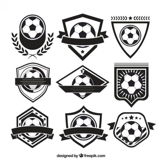 png free Variety of badges free. Vector emblem soccer